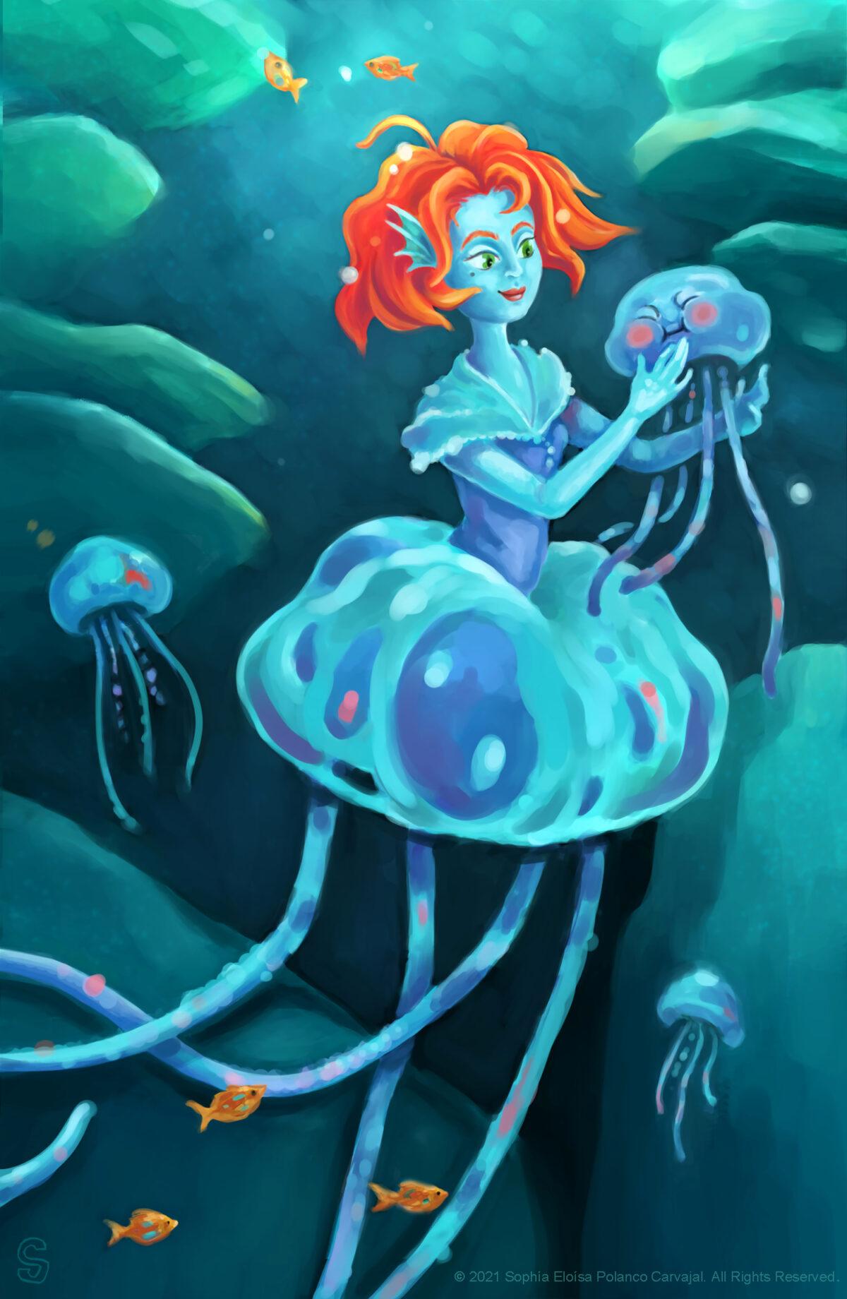 Jellyfish Lady